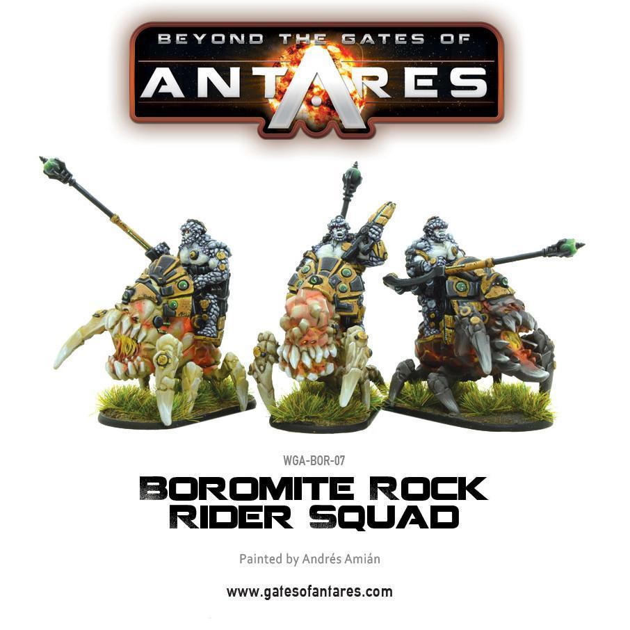 Boromite Rock Rider squad (3 Fig)