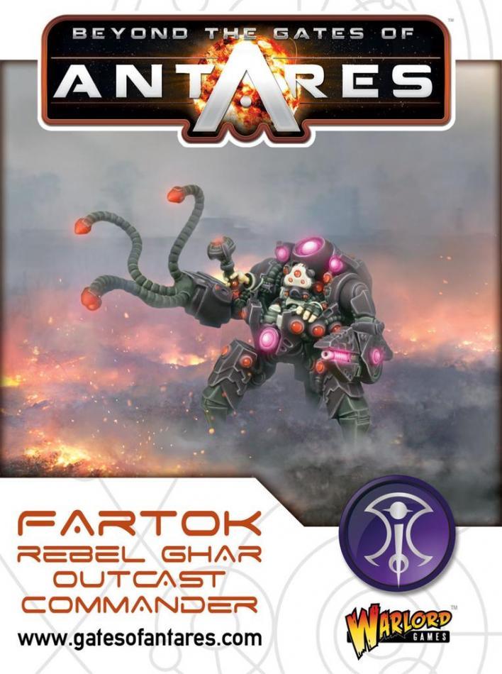 Fartok, Ghar Outcast Rebels Commander