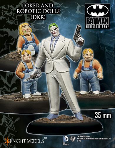 Joker And Robotic Dolls