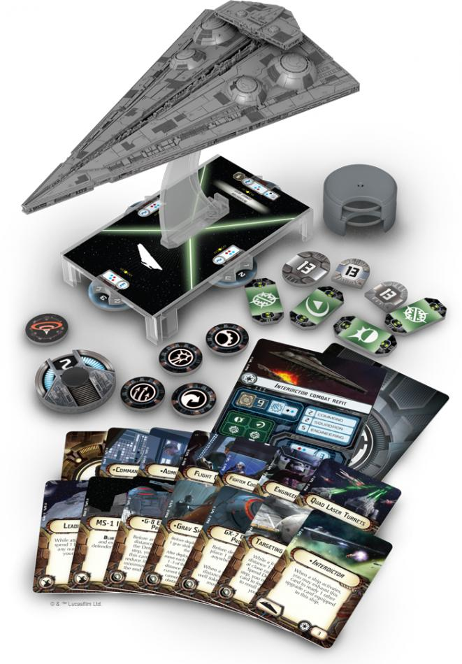Interdictor Class Star: Star Wars Armada