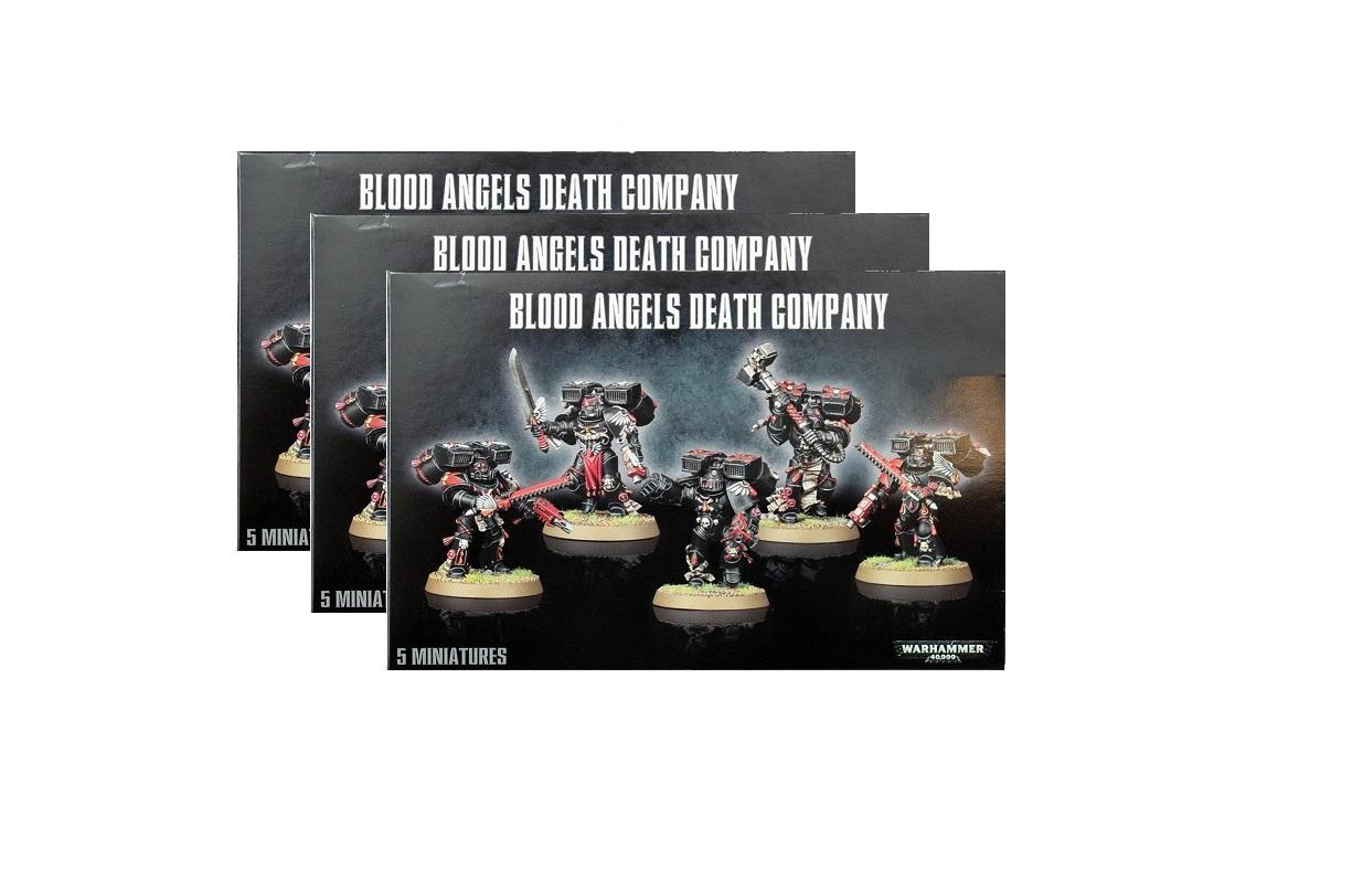 Blood Angels Death Company Bundle