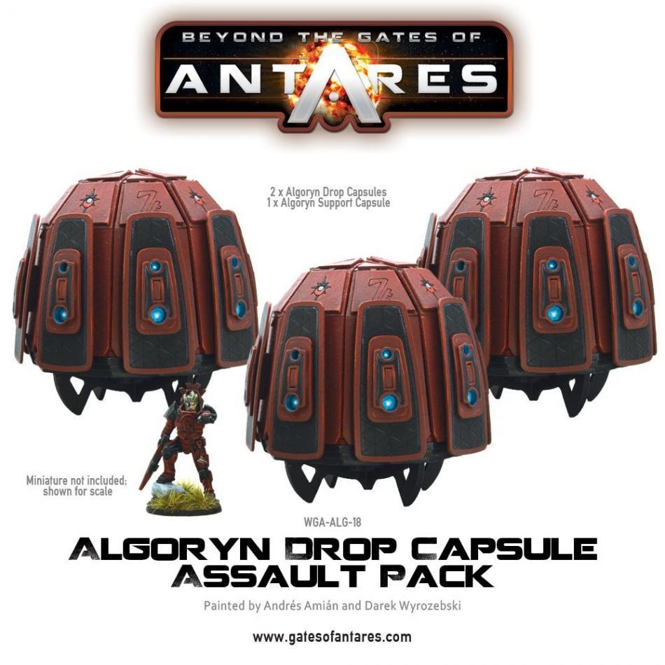 Algoryn Drop Capsule Assault Pack (3 Drop Capsules) *