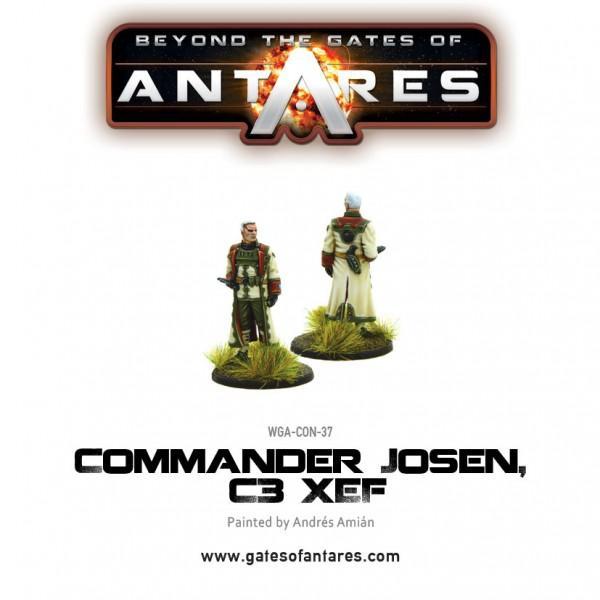 Commander Josen, C3 XEF