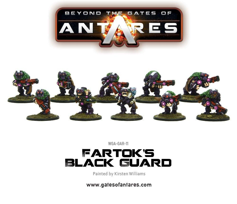 Fartok's Black Guard (10 Models) *