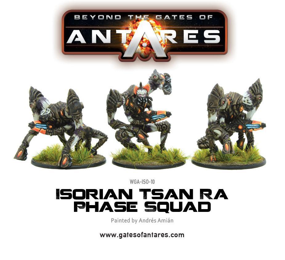Isorian Tsan Ra Phase Squad (3 Models) *