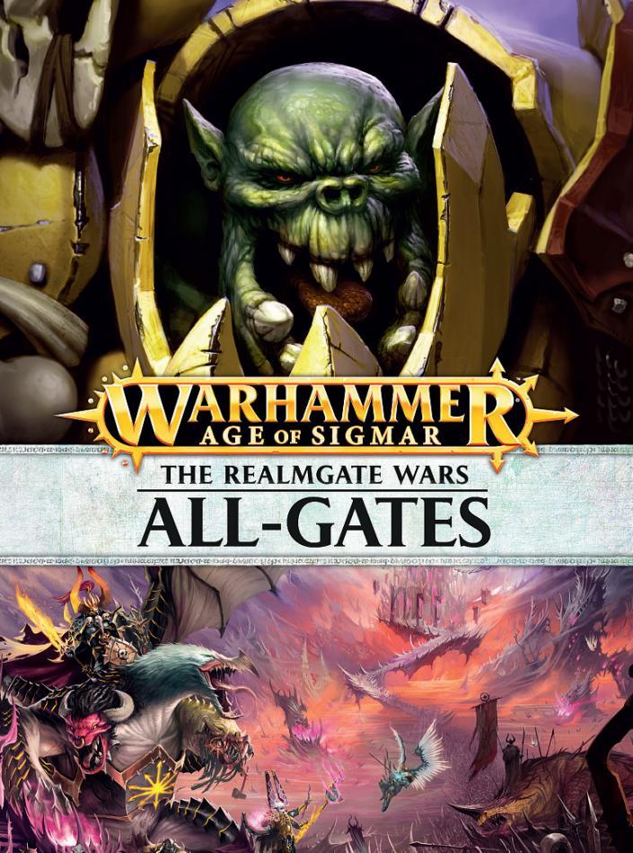 Realmgate Wars 4: All-Gates (Hardback) (English)