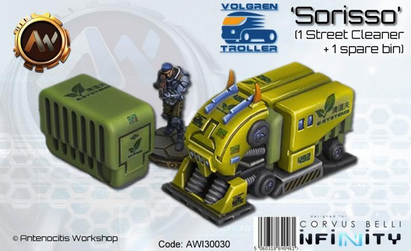 VT Sorisso (bin collector) + Bin