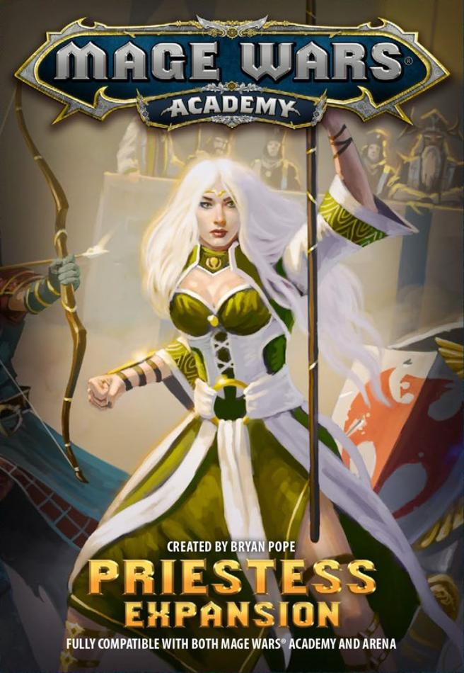 Priestess Mage Wars Academy Exp.