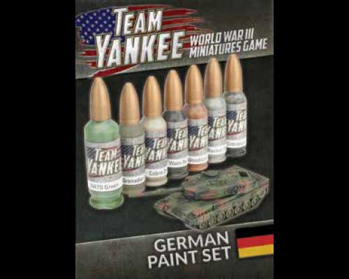 Team Yankee German Paint Set