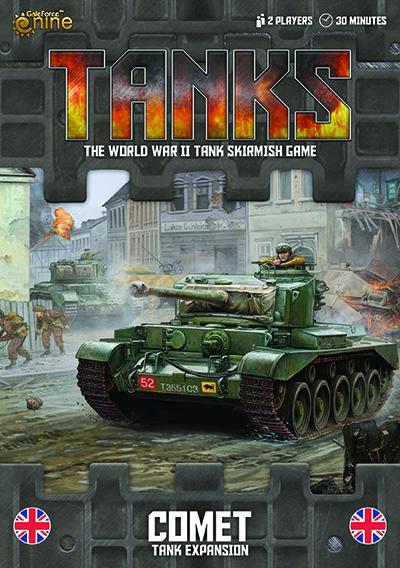 Tanks Exp. British CromwellTanks Exp British Comet
