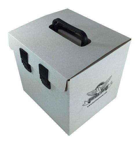 Battle Foam 'D-Box' Empty (Blizzard White)