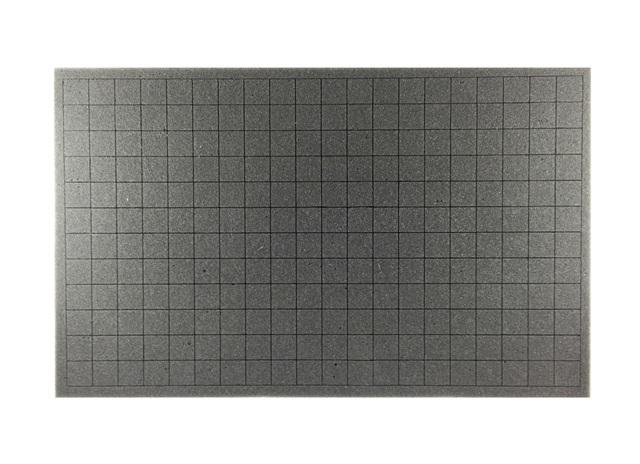 1 Inch Crusader Pluck Foam Tray (CS) (17.25 x 10.5 x 1)