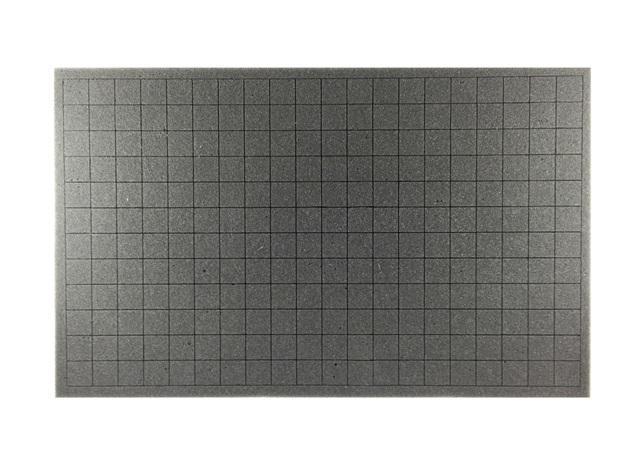 3 Inch Crusader Pluck Foam Tray (CS) (17.25 x 10.5 x 3)