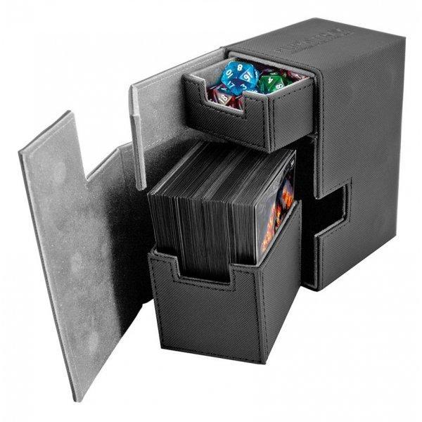 Flip'n'Tray Deck Case 80+ Standard Size XenoSkin Black
