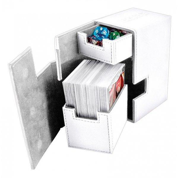 Flip'n'Tray Deck Case 80+ Standard Size XenoSkin White