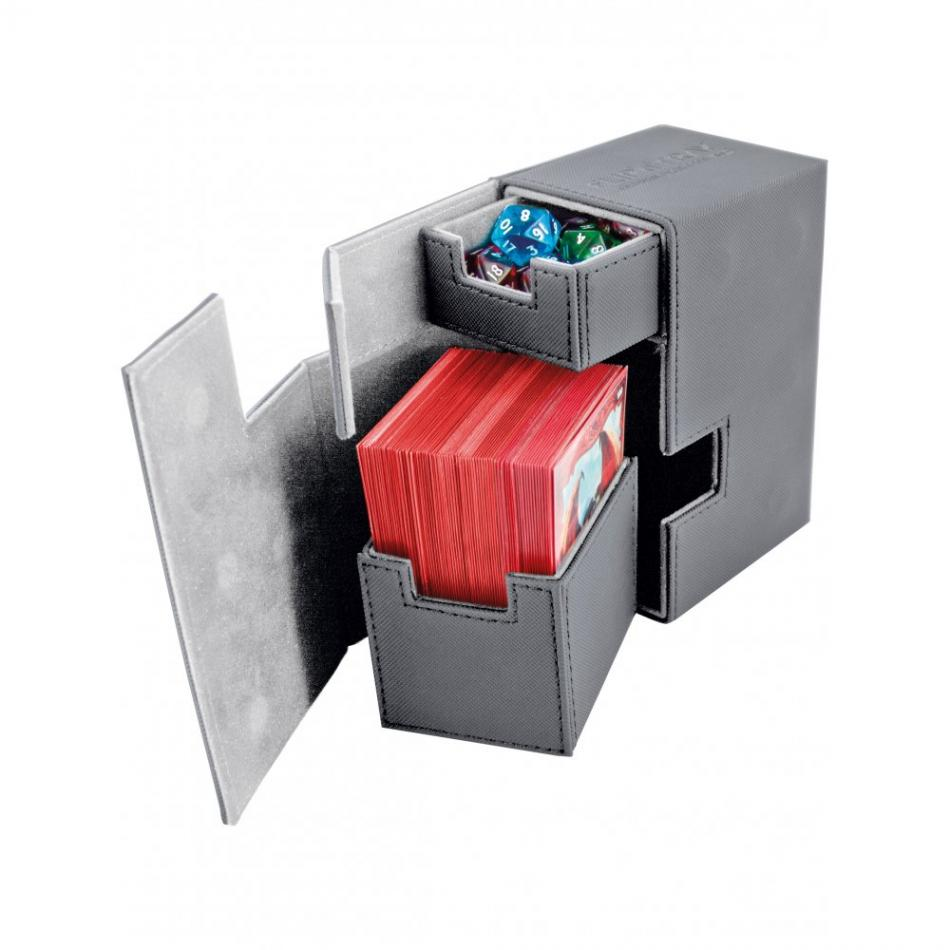 Flip'n'Tray Deck Case 80+ Standard Size XenoSkin Grey