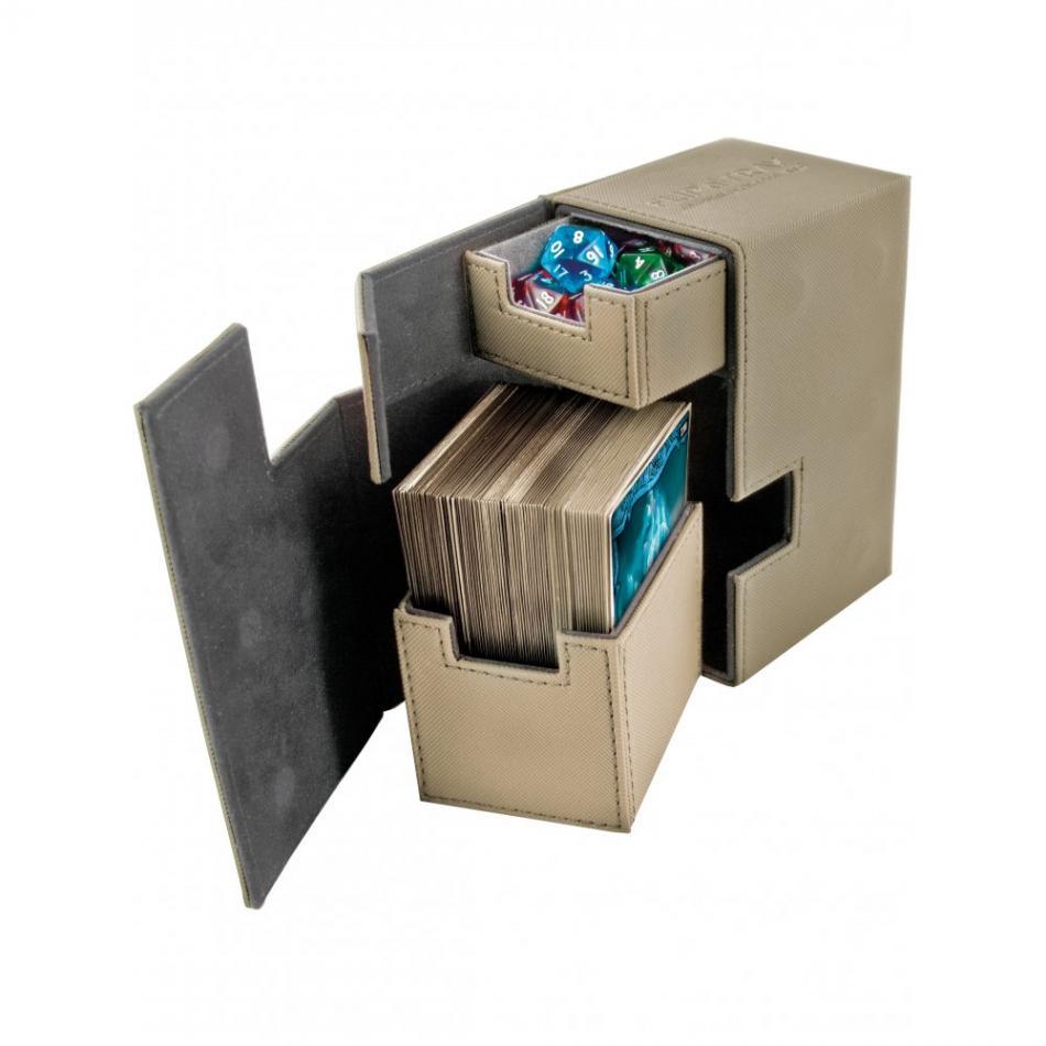 Flip'n'Tray Deck Case 80+ Standard Size XenoSkin Sand