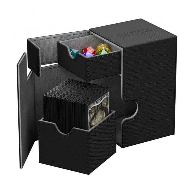 Flip'n'Tray Deck Case 100+ Standard Size XenoSkin Black