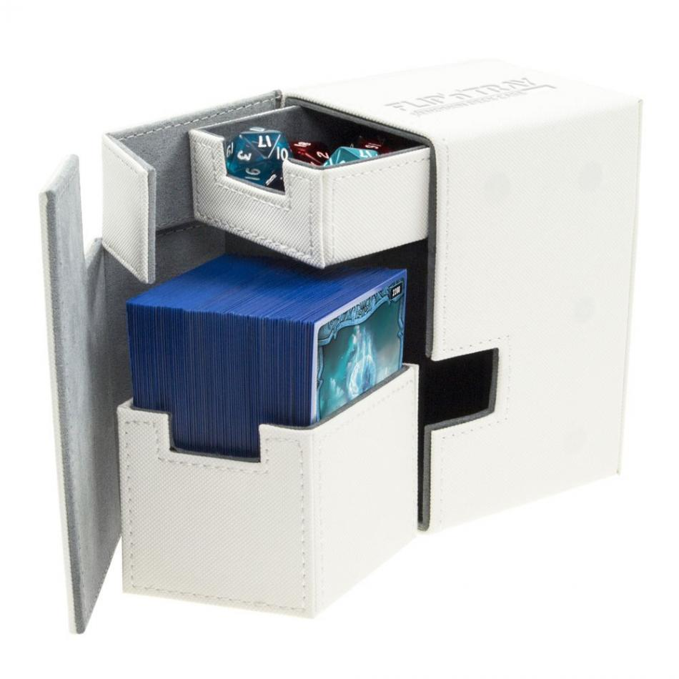 Flip'n'Tray Deck Case 100+ Standard Size XenoSkin White