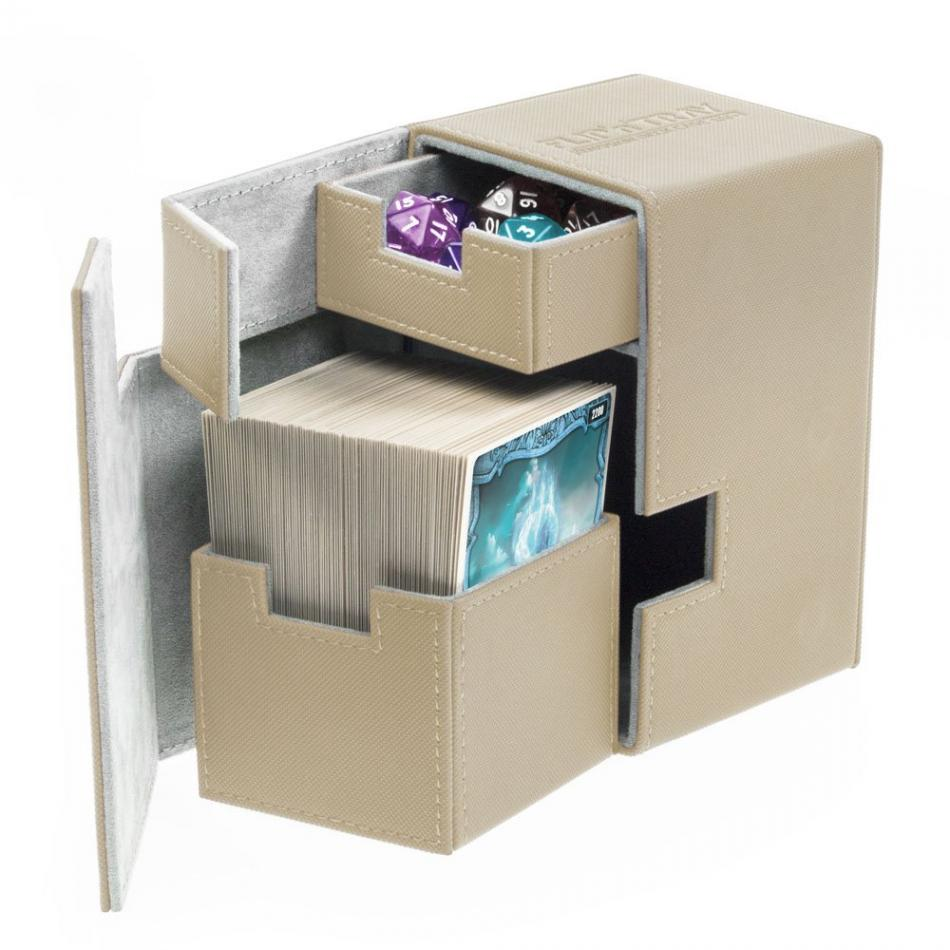 Flip'n'Tray Deck Case 100+ Standard Size XenoSkin Sand