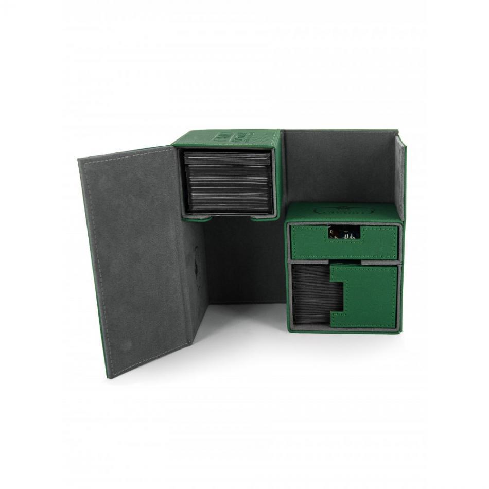 Twin Flip'n'Tray Deck Case 160+ Standard Size XenoSkin White