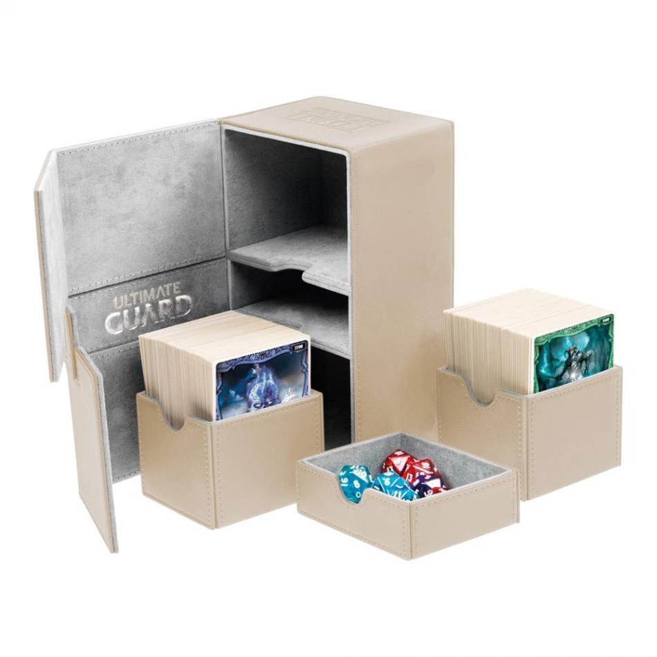 Twin Flip'n'Tray Deck Case 160+ Standard Size XenoSkin Sand