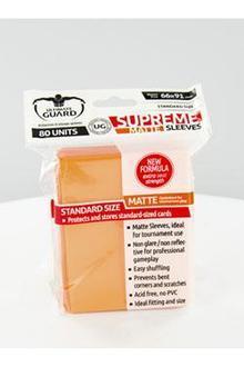 Supreme Sleeves Standard Size Matte Orange (80)