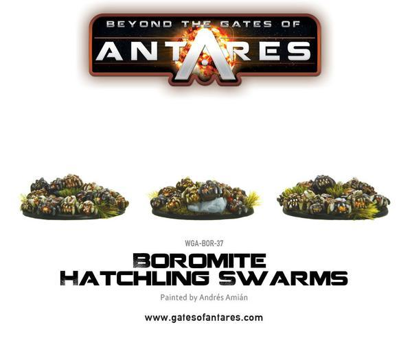 Boromite Hatchling Swarms (3 resin bases of Hatchlings)