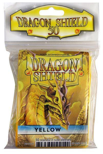 Dragon Shield Sleeves Yellow (50)