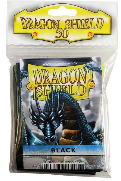 Dragon Shield Sleeves Black (50)