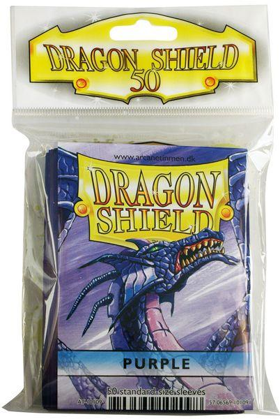 Dragon Shield Sleeves Purple (50)