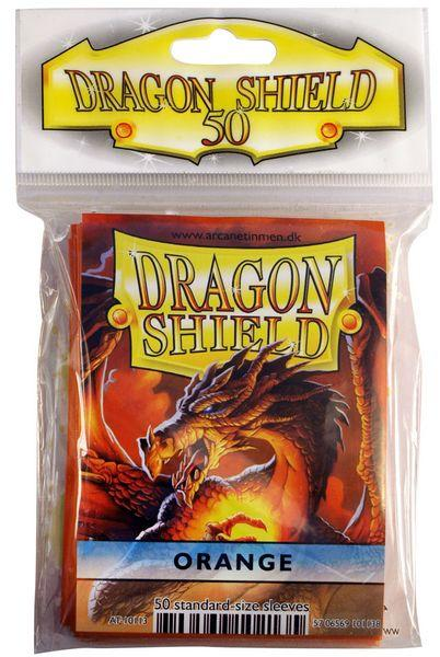 Dragon Shield Sleeves Orange (50)