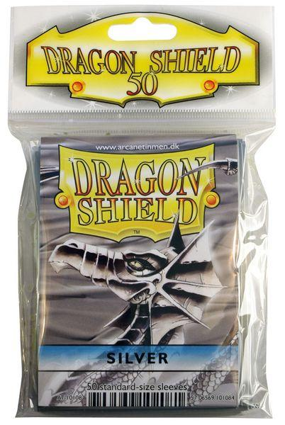 Dragon Shield Sleeves Silver (50)