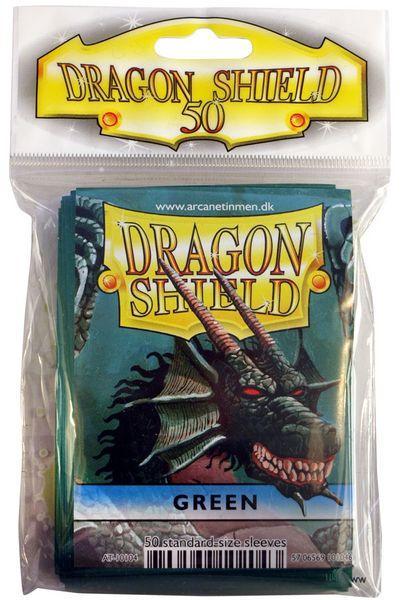 Dragon Shield Sleeves Green (50)