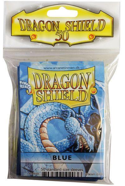 Dragon Shield Sleeves  Blue (50)
