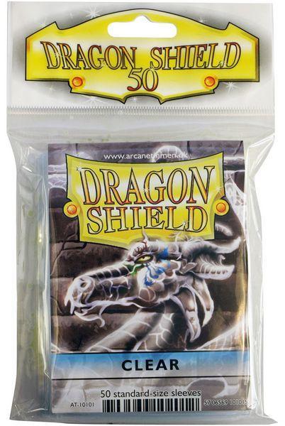 Dragon Shield Sleeves  Clear (50)