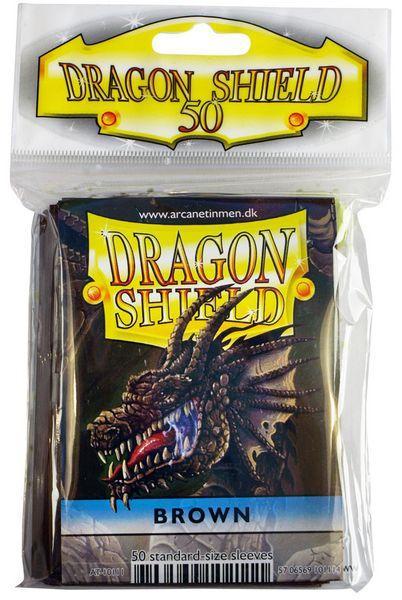 Dragon Shield Sleeves Brown (50)