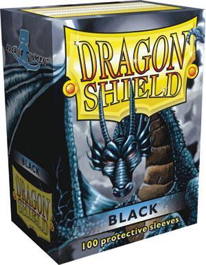 Dragon Shield Sleeves Black (100)