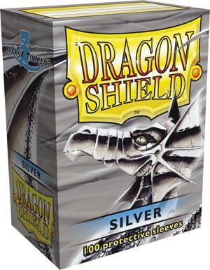 Dragon Shield Sleeves Silver (100)