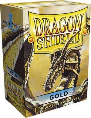 Dragon Shield Sleeves Gold (100)