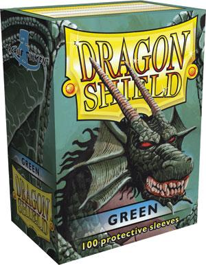 Dragon Shield Sleeves Green (100)