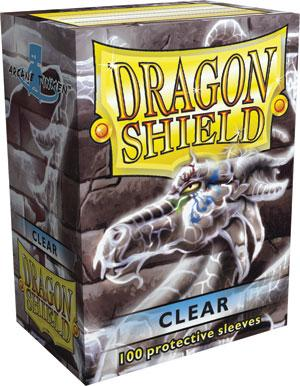 Dragon Shield Sleeves Clear (100)