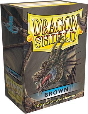 Dragon Shield Sleeves Brown (100)