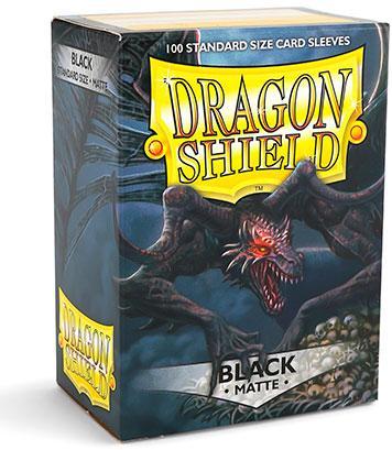 Dragon Shield Sleeves Matte Black (100)