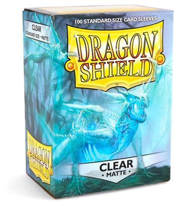 Dragon Shield Sleeves Matte Clear (100)