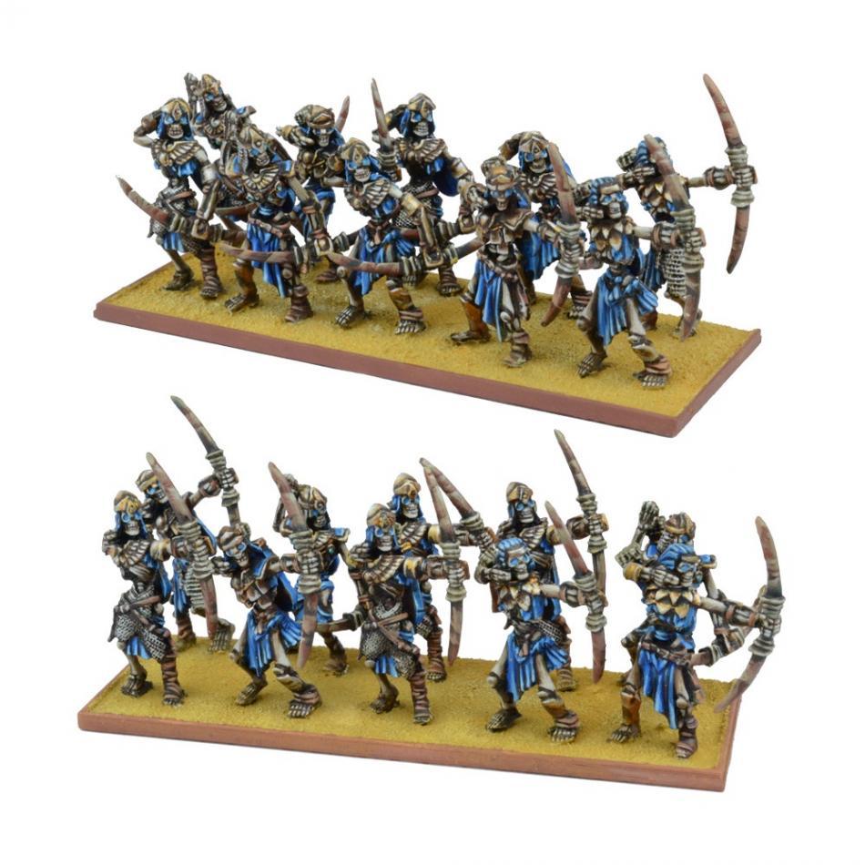 Empire of Dust Skeleton Archer Regiment