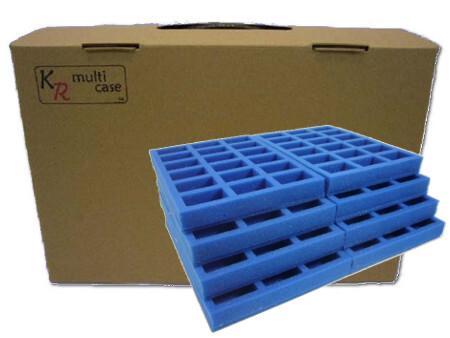 F4 Case with Half Width Trays
