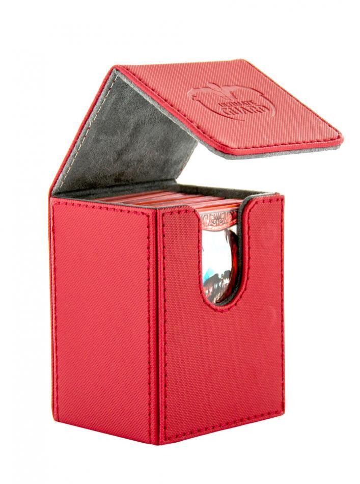 Flip Deck Case 80+ Standard Size XenoSkin Red