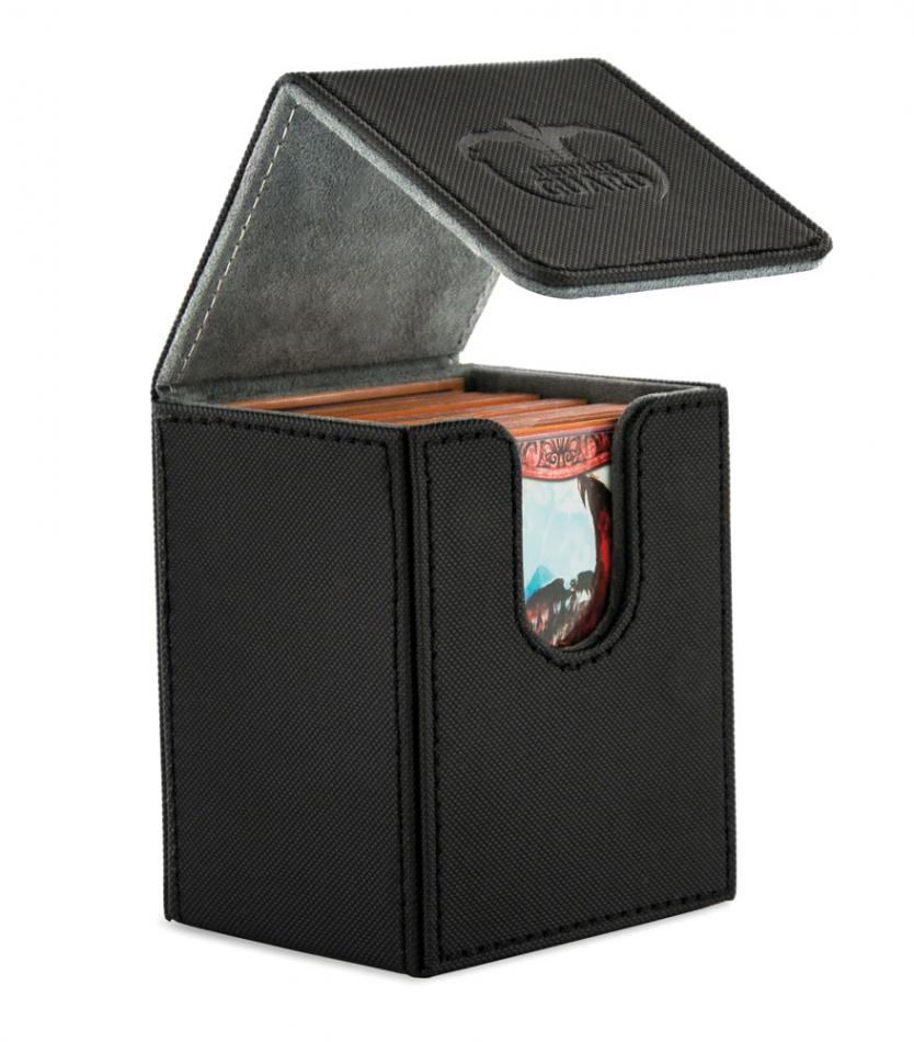 "Flip Deck Case 100+ Standard Size XenoSkinâ""¢ Black"