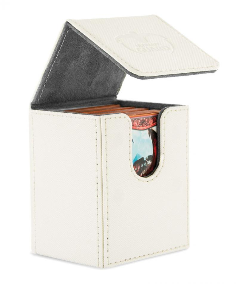 "Flip Deck Case 100+ Standard Size XenoSkinâ""¢ White"